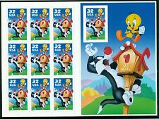 SCOTT # 3204 SYLVESTER AND TWEETY SHEET,  GREAT PRICE!