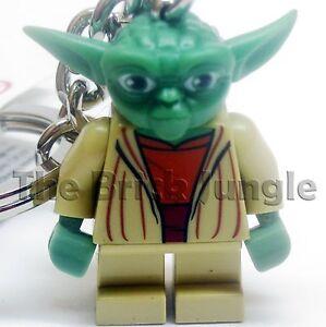 Lego Star Wars minifig yoda keyring keychain clone game wii ps3 ps4 pc chewbacca