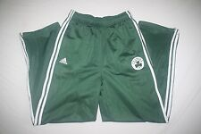 Boston Celtics Adidas Sweat Athletic Pants Youth L 14 16 Green NEW