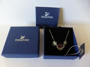 SWAROVSKI CRYSTAL NECKLACE WITH BOX AND CERTIFICATE