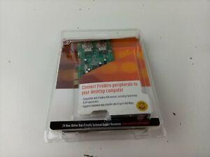 StarTech Dual Port 1394a PCI Express FireWire Card - Part# PEX1394A2