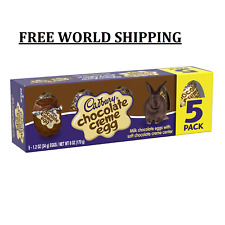 CADBURY, Milk Chocolate with Chocolate Crème Eggs Candy Easter Spring Limited