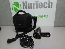 Canon VIXIA HF S100 FULL HD Camcorder AVCHD HDMI 8.0 MPw/ Case & AC Adapter