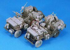 Legend 1/35 SAS Jeep Conversion Set (enough for 2 Vehicles) (for Tamiya) LF1233