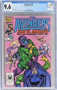 D195 AVENGERS #269 Marvel CGC 9.6 NM+ (1986) Origin of Kang as Rama-Tut