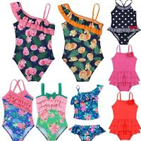 Toddler Kids Baby Girls Swimwear Swimsuit Bikini Bathing Suit Swimming Beachwear