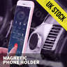 Universal In Car Magnetic Mobile Phone Holder Phone Mount for iPhone X Android