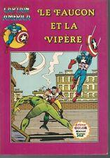 Captain America (1re série) 13. Le Faucon et la Vipère. Artima Color CV2A
