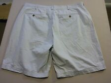057 MENS EX-COND GAZMAN RELAXED FIT CEMENT GREY CASUAL SHORTS 42 $80 RRP.