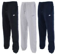 New Men's Nike Logo Fleece Joggers Tracksuit Bottoms Track Sweat Jogging Pants
