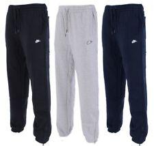 New Men's Nike Logo Fleece Joggers Tracksuit Bottoms Track Sweat Jogging Pants