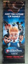 Meet The Robinson's Official! Movie Park Banner Sign Poster Retired Prop (2007)