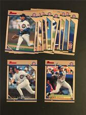 1996 Bowman Chicago Cubs Team Set 13 Cards