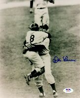 Don Larsen autographed signed 8x10 photo MLB New York Yankees PSA COA