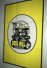 BOOT HILL Vintage Movie Poster Terence Hill Spaghetti Western Bud Spencer
