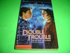 DOUBLE TROUBLE by Barthe DeClements & Christopher Greimes Paperback April 1988