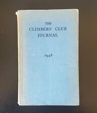 Vintage Climbers' Club Journal 1948 VIII EDITED BY A. D. M. COX