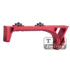 Tactical M-LOK Link Curved Foregrip Billet Aluminum Grip Handstop - Red