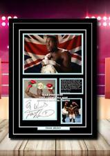 More details for (123) frank bruno boxing legend signed unframed/framed photograph pp @@@@@@@@