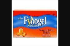 FYBOGEL ORANGE ISPAGHULA HUSK NATURAL FIBRE DRINK - 30 SACHETS - NEW