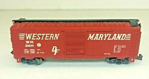 Atlas Western Maryland Box Car #36041  *N Scale* $4 Shipping