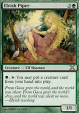 1x Elvish Piper - Foil 10th Edition Light Play, English MTG