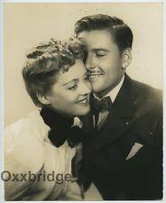 Bette Davis & Errol Flynn 1937 Elmer Fryer Double Weight Photo RARE J5815