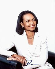 Condoleezza Rice Signed Autographed 8x10 Photo JSA Authenticated Secretary of St