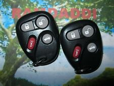1 & 2 OEM Pair 25695954 25695955 01 02 03 04 Corvette Remote Transmitter Key Fob