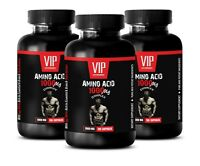 post workout recovery - AMINO ACID 1000mg - increase workout stamina 3 Bottles