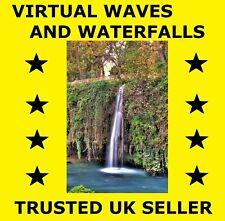 D061 Virtual Waves and Waterfalls