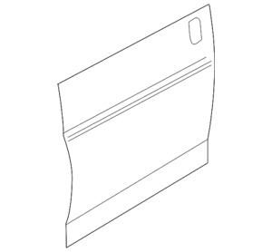 Genuine GM Outer Panel 23283984