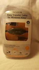 NEW Belkin Easy Transfer Cable for windows Vista 8ft including software
