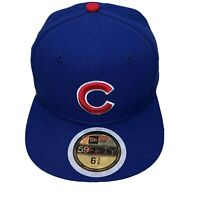 Chicago Cubs New Era Youth Authentic Collection Game 59FIFTY Fitted Hat 6 3/8