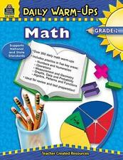 Teacher Created Resources Daily Warm-ups: Math, Grade 2 Education Printed Book