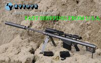 "1/6 Black Barrett M82A1 SASR Sniping Gun Rifle For 12"" Hot Toys Figure ❶USA❶"