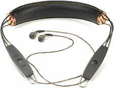 Klipsch X12 Bluetooth Neckband Headphones Wireless (Black Leather)
