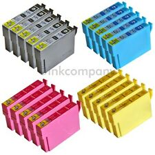 20 kompatible Tintenpatronen für Drucker Epson SX445W SX125 SX230