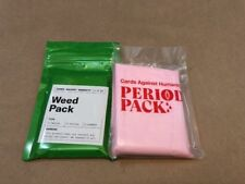 Cards Against Humanity Expansions: Weed and Period Pack, New 2017