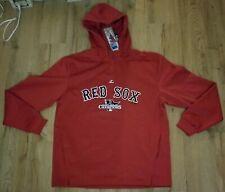 Boston Red Sox Majestic 2013 World Series Champions quarter zip Sweatshirt Large
