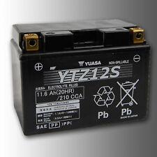 """YUASA YTZ12S Motorradbatterie 12V 11Ah 210A (CCA EN1) """"High-Performance"""""""