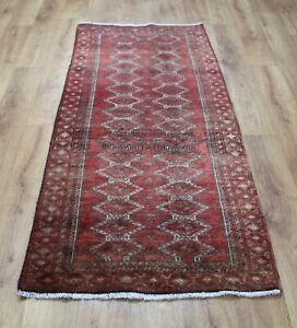 Traditional Vintage Wool Handmade Classic Oriental Areas Rug Carpet 163 X 70 cm