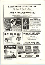 1962 PAPER AD Angela Cartwright Natural Doll Co Carter Tru Scale Tractor Loader