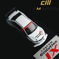 CM 1:64 Scale Car Model Mitsubishi Lancer EVO IX Evolution 9 Full Flower Edition