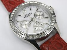 Ladies Rotary Watch LB00161/07 Stainless Steel Analogue Watch - 50m