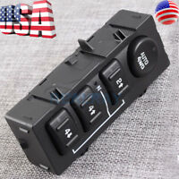 4x4 Selector Switch for GM CHEVY TAHOE YUKON SILVERADO SIERRA SUBURBAN AVALANCHE