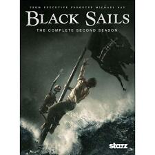 Black Sails: The Complete Second Season (DVD, 2015) New Free Shipping