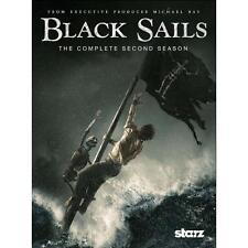 Black Sails: The Complete Second Season 2 (DVD, 2015)
