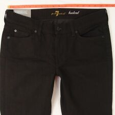 NEW Ladies Seven 7 for All Mankind BOOTCUT Stretch Black Jeans W33 L30 BNWT