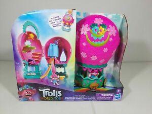 Trolls World Tour Tour Balloon Toy Playset with Poppy Doll new DreamWorks
